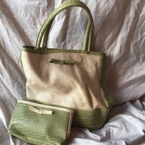 Estee Lauder handbag with matching mini purse!